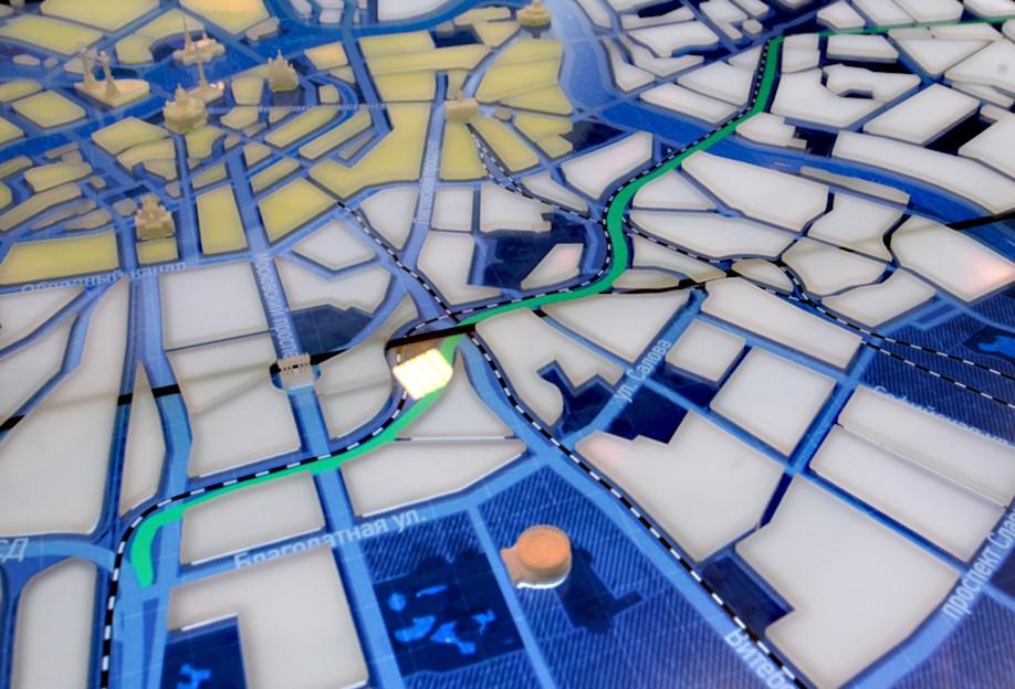 Фото проектировки трассы восточного скоростного диаметра